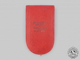 """Austria, Empire. A Military Merit Medal """"Signum Laudis"""", II Class Bronze Grade Case, c.1910"""