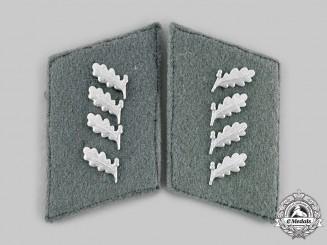 Germany, Reich Forstschutz. A Pair of Heer Reich Forstschutz (Forestry Service) Collar Tabs.