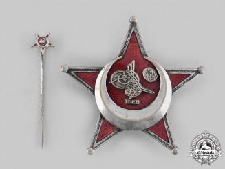 Turkey, Ottoman Empire. A War Medal (Gallipoli Star), with Corresponding Stick Pin, c. 1915