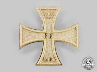 Mecklenburg-Schwerin, Grand Duchy. A Military Merit Cross, I Class, c.1915