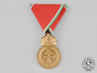 Hungary, Regency. A Signum Laudis Medal, II Class Bronze Grade