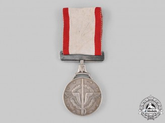 Egypt, Republic. A Medal of Military Duty, II Class Silver Grade, c.1955