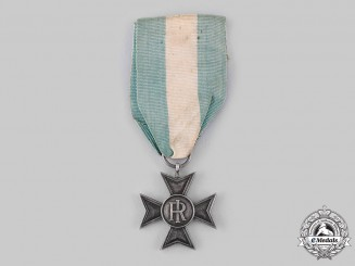 Italy, Republic. A Long Service Cross for Sixteen Years' Service, c.1918