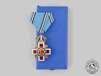 Estonia, Republic. An Order of the Estonian Red Cross, V Class Knight, c.1945