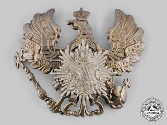 Anhalt, Duchy. An Infantry Regiment No.93  Pickelhaube Helmet Plate