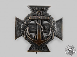 Germany, Weimar Republic. A Marine Brigade of Löwenfeld Cross, I Class, c.1920