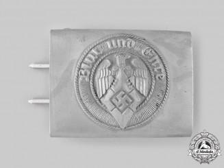 Germany, HJ. A Rare HJ EM/NCO's Belt Buckle by Werner Redo