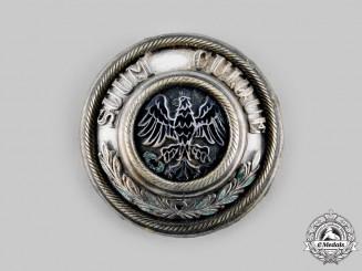 Prussia State. A Guard Regiment Pickelhaube Helmet Plate Centre