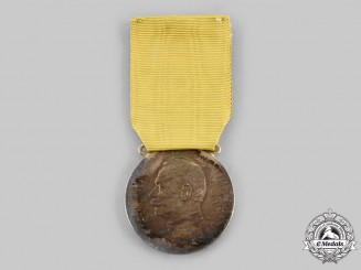 Baden, Grand Duchy. A Silver Merit Medal of Friedrich II, c.1915