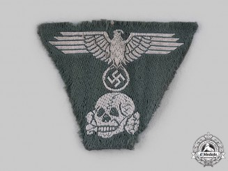 Germany, SS. A M43 Cap Eagle and Skull Insignia