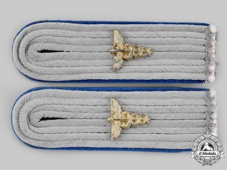 Germany, Heer. A Pair of Administrative Official Leutnant Shoulder Boards