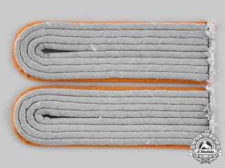 Germany, Heer. A Pair of Leutnant Feldgendarmerie Shoulder Boards
