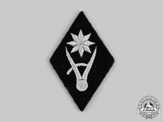 Germany, SS. A SS Economic and Administration Central Office Construction Group Sleeve Insignia
