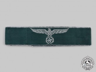Germany, Third Reich. A Land Customs Service Cuff Title