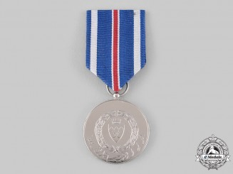 Bahrain, Kingdom. A Police Medal of Merit for Devotion to Duty