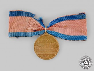 Switzerland, Federal State. A Medal for the 500th Anniversary of the Battle of Näfels 1388-1888