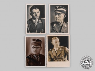 Germany, SS/SA. A Lot of Studio Portrait Period Postcards