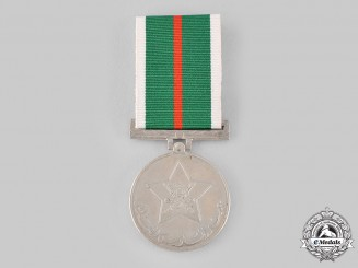 Oman, Sultanate. A Tenth Anniversary Medal 1970-1980