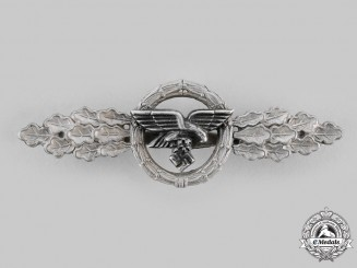 Germany, Luftwaffe. A Front Flying Clasp for Transport and Glider Pilots, Silver Grade