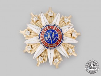 Portugal, Republic. An Order of the Immaculate Conception of Vila Viçosa, Commander
