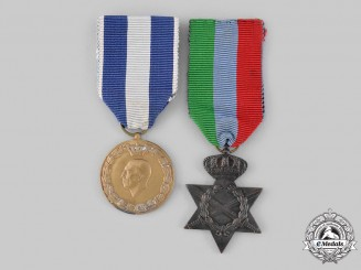 Greece, Kingdom. Two Second War Medals