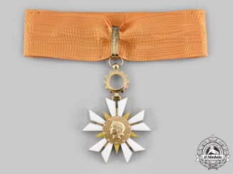 France, IV Republic. An Order of the National Economy, I Class Commander, c.1955