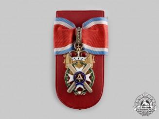 Serbia, Kingdom. An Order of the Cross of Takovo, III Class Commander, by V. Mayer, Wien, c.1900
