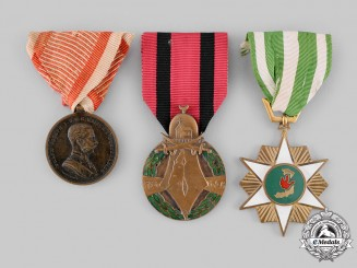 Austria, Empire; Syria, Republic; Vietnam, Republic, South Vietnam. Three Awards