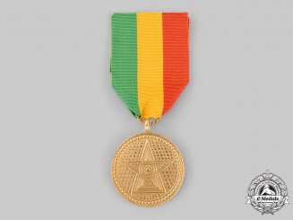 Ethiopia, Empire. An Order of the Star of Ethiopia, V Class Medal, by B.A.Sevadjian