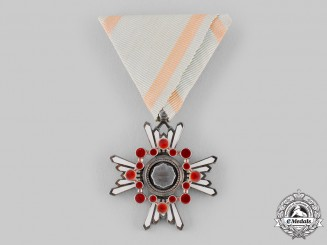 Japan, Empire. An Order of the Sacred Treasure, VII Class, c.1918