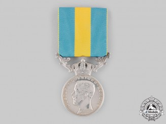 Sweden, Kingdom. A Gustav V Royal Red Cross Merit Medal, II Class Silver Grade for Volunteers