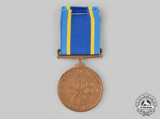 South Africa, Republic. A Medal for the 75th Anniversary of the Founding of the South African Police 1913-1988
