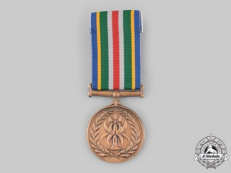 South Africa, Republic. A Police Service Reconciliation and Amalgamation Medal 2005