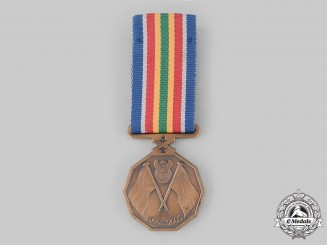 South Africa, Republic. A Police Service Ten Year Commemoration Medal 1995-2005