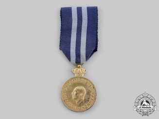 Greece, Kingdom. A 1946 Medal of Merit of Warrant Officers of the Gendarmery, c. 1946.