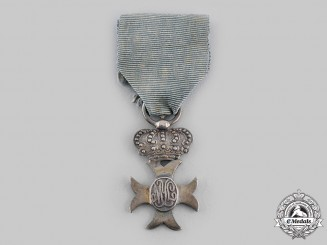 Spain, Kingdom. An Order of Maria Isabela Luisa, Silver Cross, c.1935