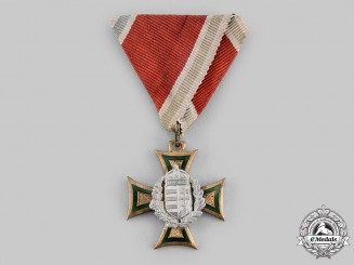 Hungary, Kingdom. A Long Service Decoration, Officer II Class, c.1930