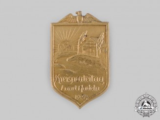 Germany, NSDAP. A Hadeln Regional Meeting Badge