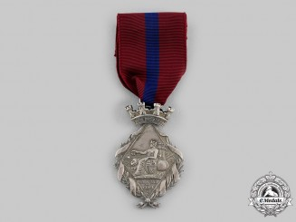Spain, Kingdom. A Campaign Medal for Cuba (for Civil Service),  c.1874