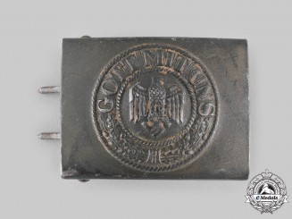 Germany, Heer. An EM/NCO's Belt Buckle, by Gustav Brehmer