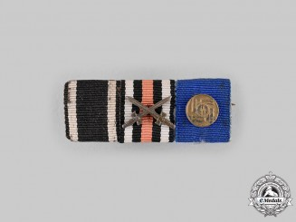 Germany, SS. A Long Service Ribbon Bar