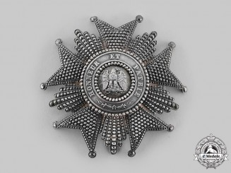 France, II Empire. A Légion D'Honneur, I Class Grand Cross Star, but Halley, Paris, c.1860