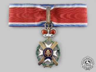 Serbia, Kingdom.An Order of the Cross of Takovo, III Class Commander, c.1900
