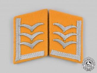 Germany, Luftwaffe. A Set of Flight Personnel Feldwebel Collar Tabs
