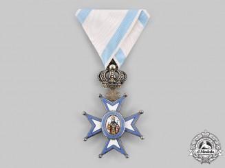 Serbia, Kingdom. An Order of St. Sava, V Class Knight, by G.A. Scheid, c.1910