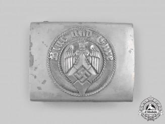 Germany, HJ. An EM/NCO's Belt Buckle, by Richard Sieper & Söhne