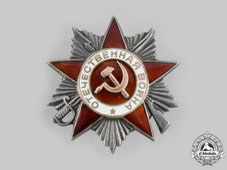 Russia, Soviet Union. An Order of the Patriotic War, II Class.