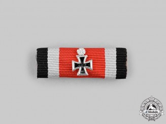 Germany, Federal Republic. A Ribbon Bar for a Knight's Cross of the Iron Cross with Oak Leaves, 1957 Version
