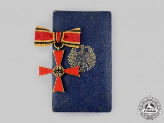 Germany, Federal Republic. A Ladies Commander Cross of the Order of Merit of the Federal Republic of Germany, with Case, by Steinhauer & Lück