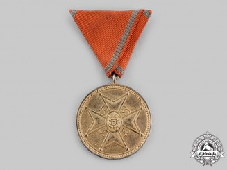 Latvia. A Medal of Honour of the Cross of Recognition, III Class, c.1940